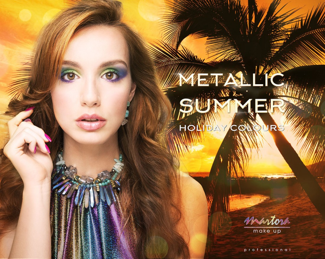Martora Makeup Metallic Summer